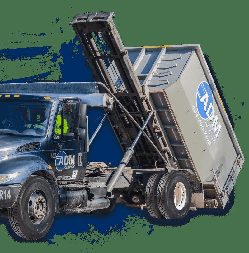 Dumpster Loading Truck