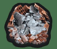 Construction debris as Junk