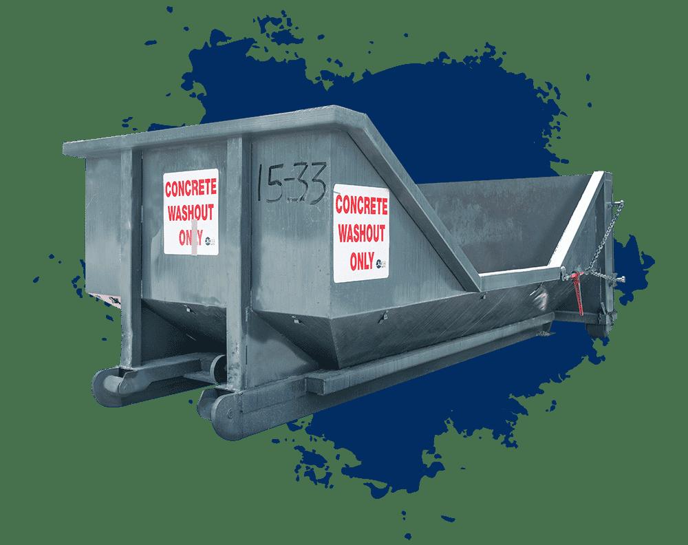 Concrete Washout Dumpster